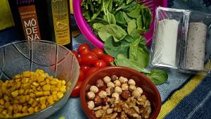 Ensalada Espinacas Y Queso Cabra Ingredientes